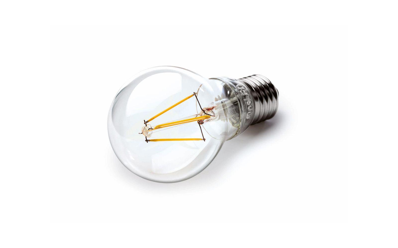 EINMALIGE VERWENDUNG Vosla / Glühbirne / LED