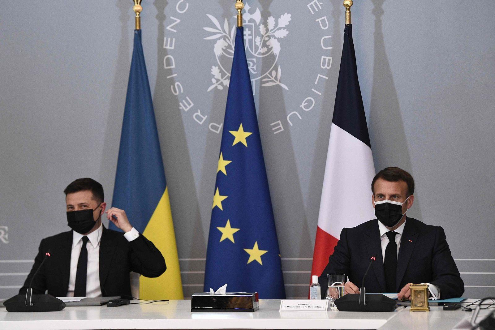 Ukrainischer Präsident Selenskyj in Frankreich