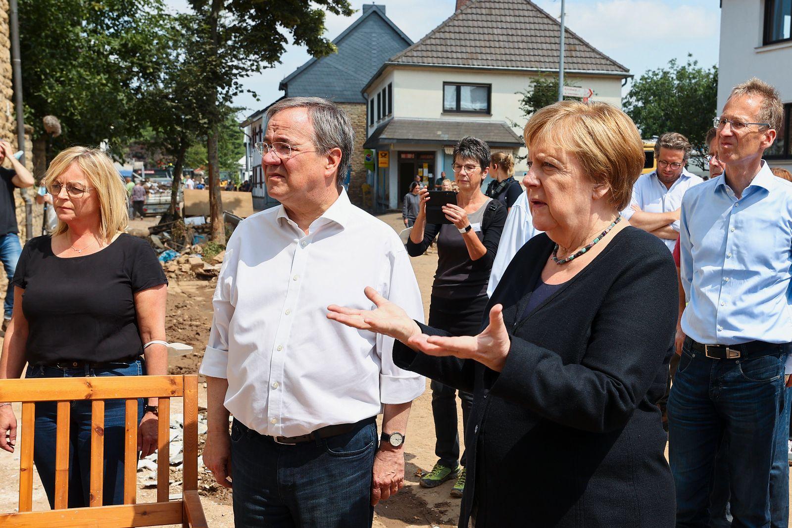 Bundeskanzlerin Angela Merkel in Bad Münstereifel