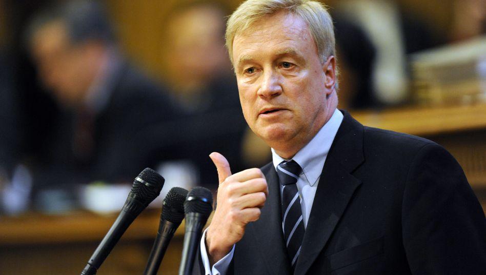 """Hamburgs Bürgermeister Beust: """"Ich glaube, dass die Sanierung 2014 abgeschlossen ist"""""""