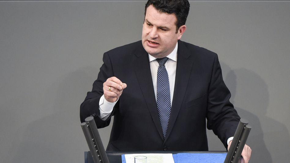 Arbeitsminister Heil