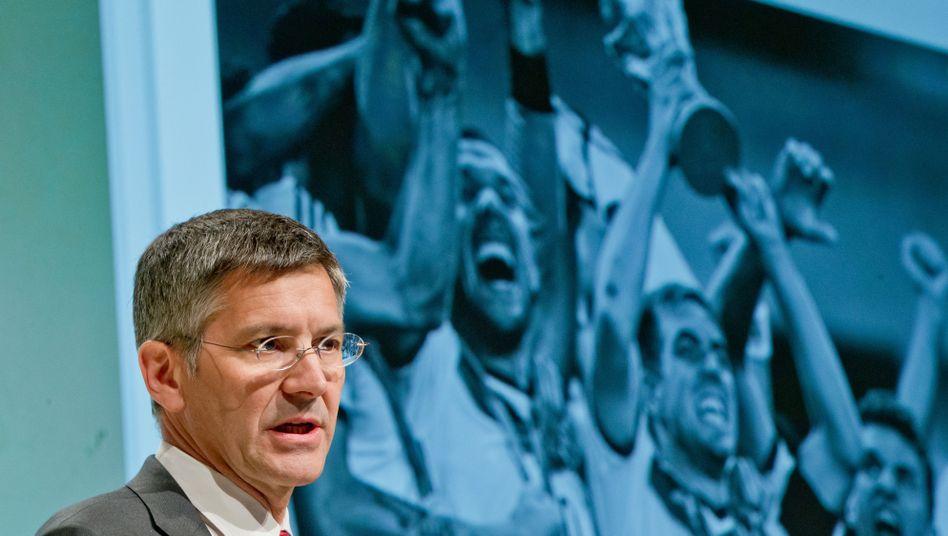 """Adidas-Chef Hainer: """"Gegen Doping in jeglicher Form"""""""