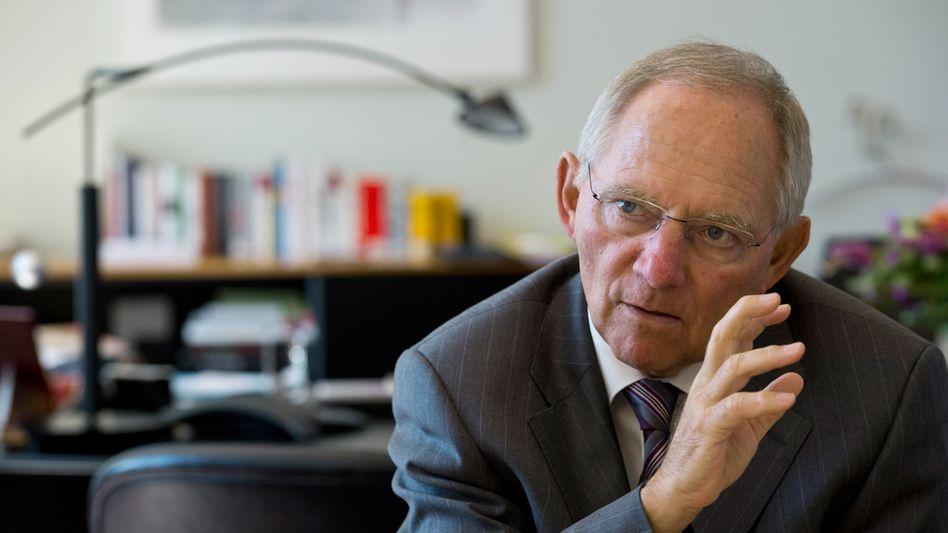 """Bundesfinanzminister Schäuble: """"Sehr eng zusammenarbeiten"""""""