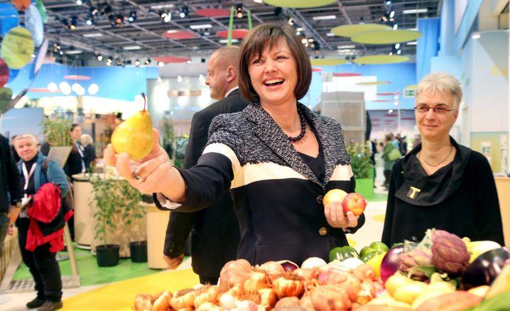 Aigner bei der Grünen Woche: CSU-Ministerin stellt Bio-Studie vor