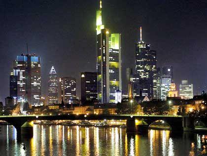 Frankfurter Skyline: Das Ziel des Flugzeugentführers?