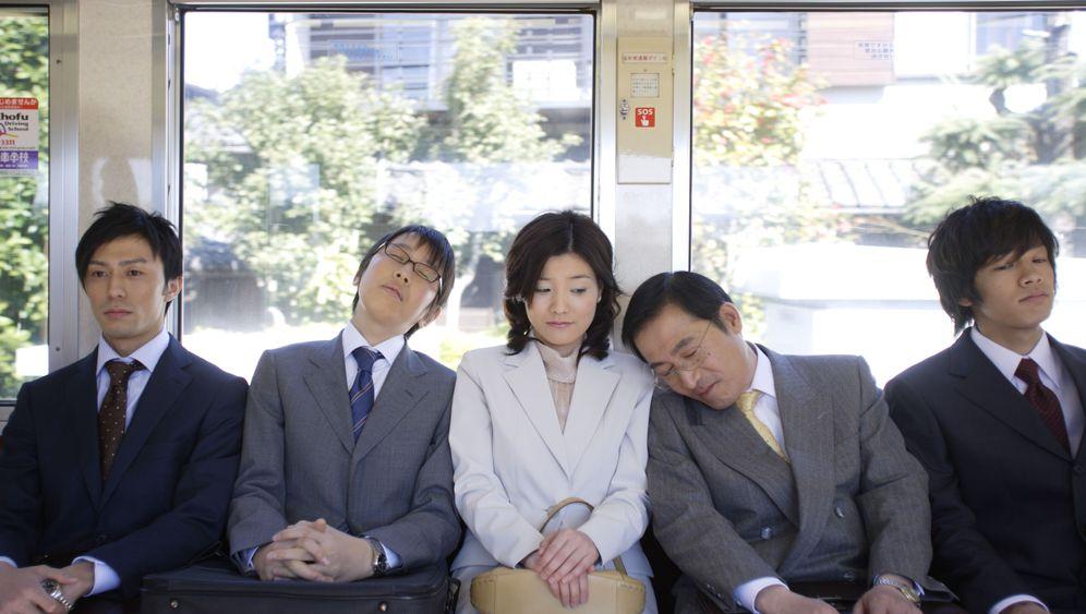 Power Nap in der Öffentlichkeit: Schlaf, Japan, schlaf