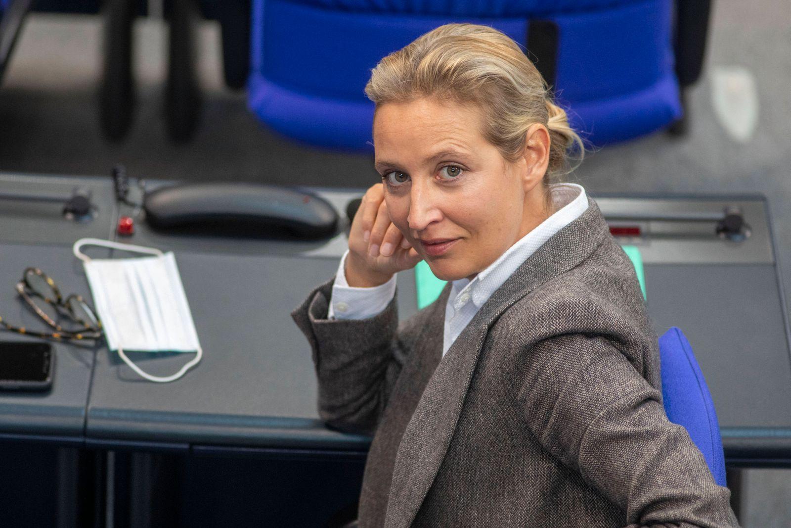 News Themen der Woche KW47 News Bilder des Tages Deutschland, Berlin, Bundestag, 191. Sitzung, Alice Weidel AfD, 18.11.
