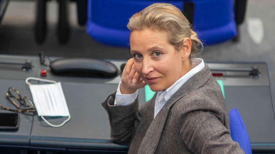 Alice Weidel im Bundestag (2020)