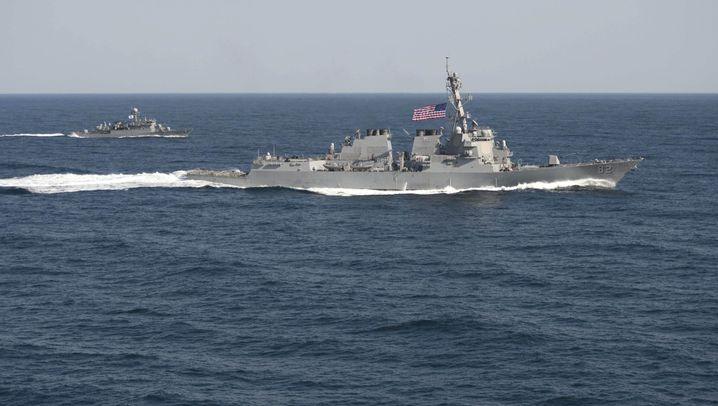"""Territorialstreit zwischen USA und China: """"USS Lassen"""" im Südchinesischen Meer"""