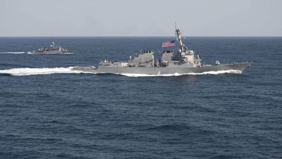 Territorialstreitum Spratly-Inseln: USA schicken Kriegsschiff ins Südchinesische Meer