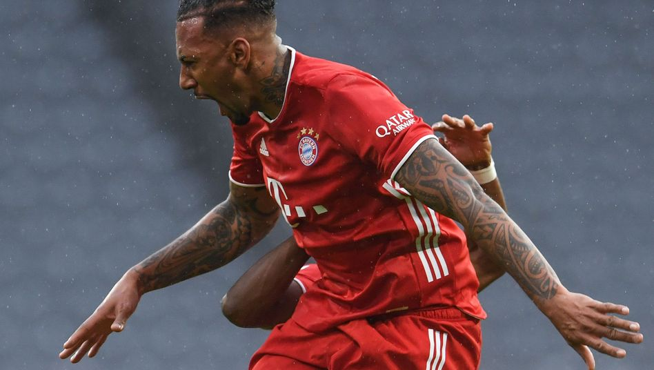 Jérôme Boateng traf zur Führung für die Bayern