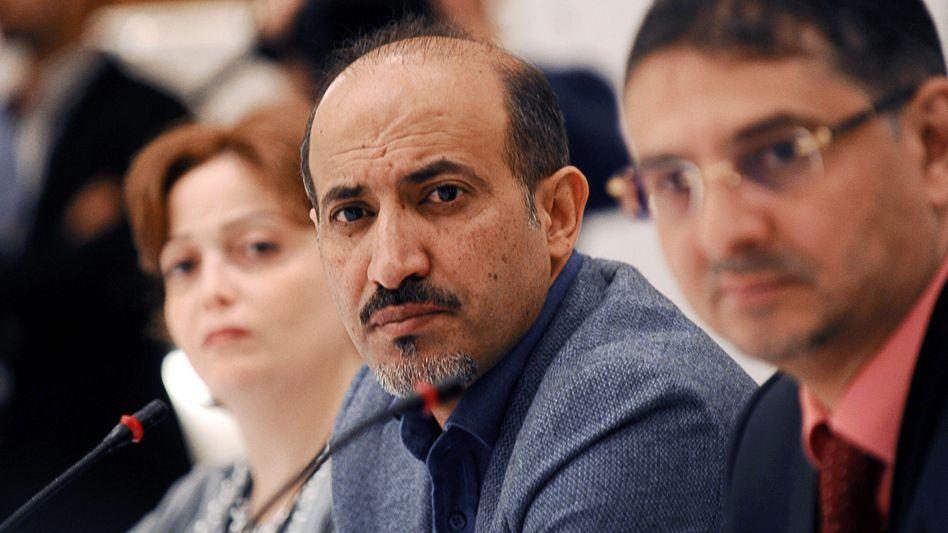 Ahmed Jarba, Präsident der Nationalen Koalition Syriens: Bündnis zu Gesprächen bereit