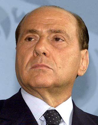 Silvio Berlusconi: Der Angklagte erschien heute nicht zur Verhandlung