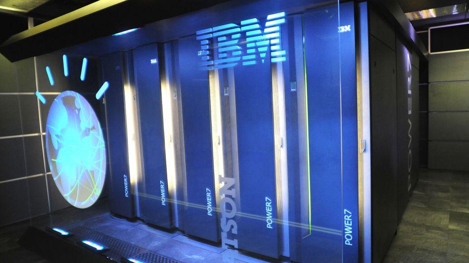 "IBM-Supercomputer ""Watson"""