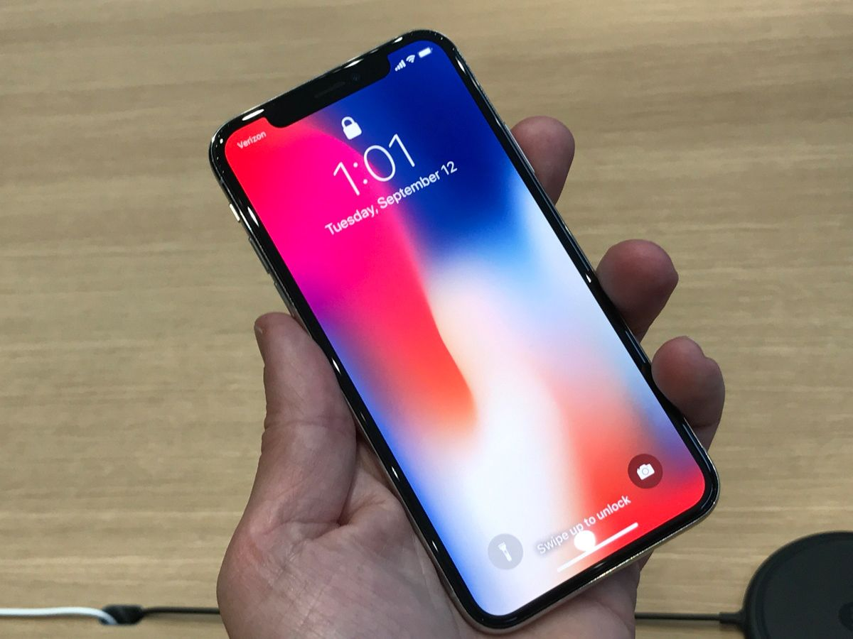 iphone x / Hands on / Cupachino 2
