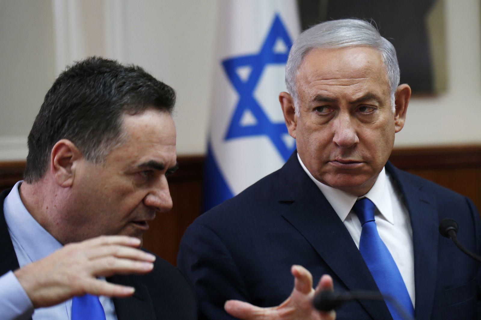 Netanjahu und Israel Katz