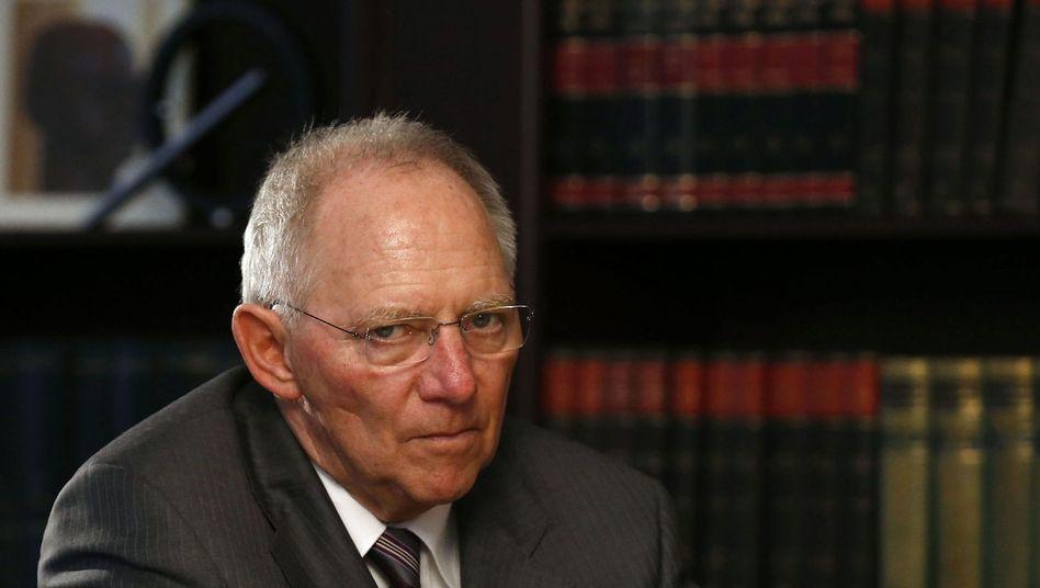Schäuble: Der Mann, auf den die Amerikaner in Europa bauten