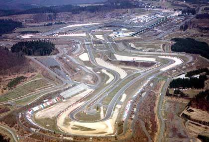 Der Nürburgring von oben: Massive Verluste