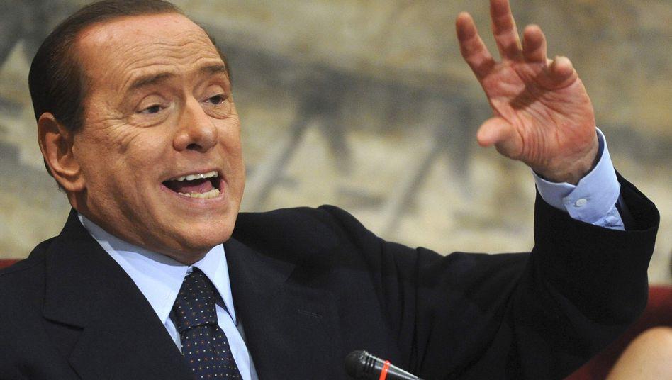 Italiens Regierungschef Berlusconi: Streit mit Finanzminister über Sparkurs