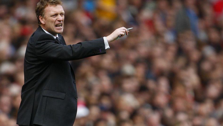 Everton-Coach Moyes: Seit 2002 beim Liverpooler Stadtteilclub