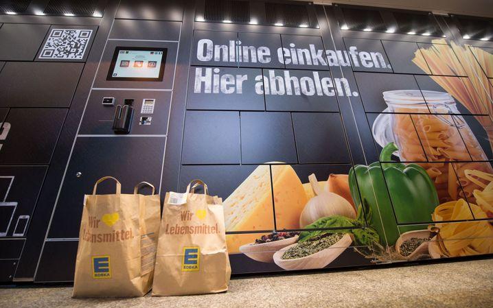 Lebensmittel werden während der Pandemie auch online gekauft