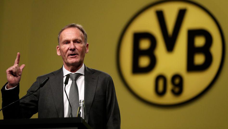 """Hans-Joachim Watzke: """"Tretet so auf, wie das von Borussen erwartet wird"""""""
