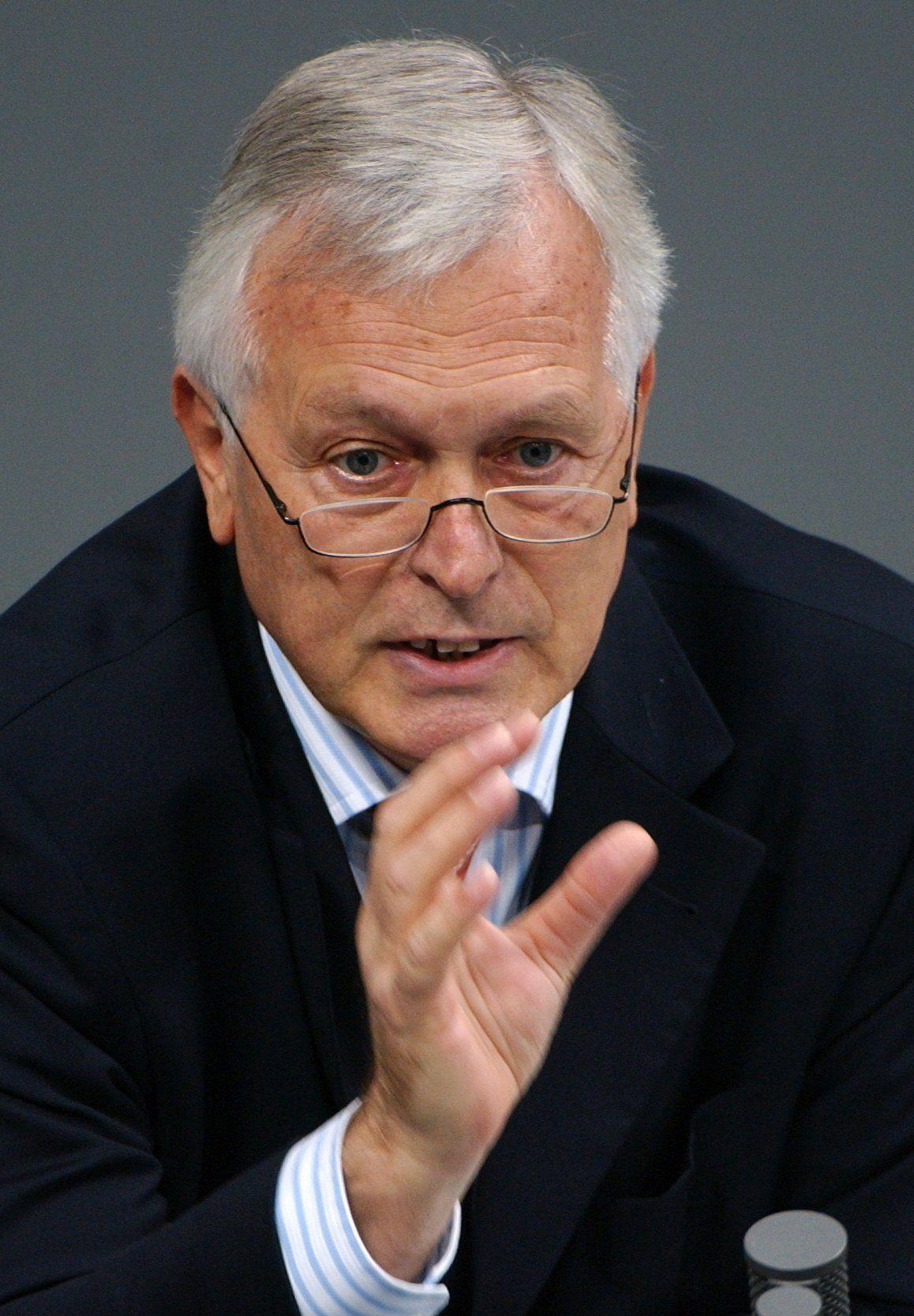 Ex-Geheimdienstkoordinator Bernd Schmidbauer
