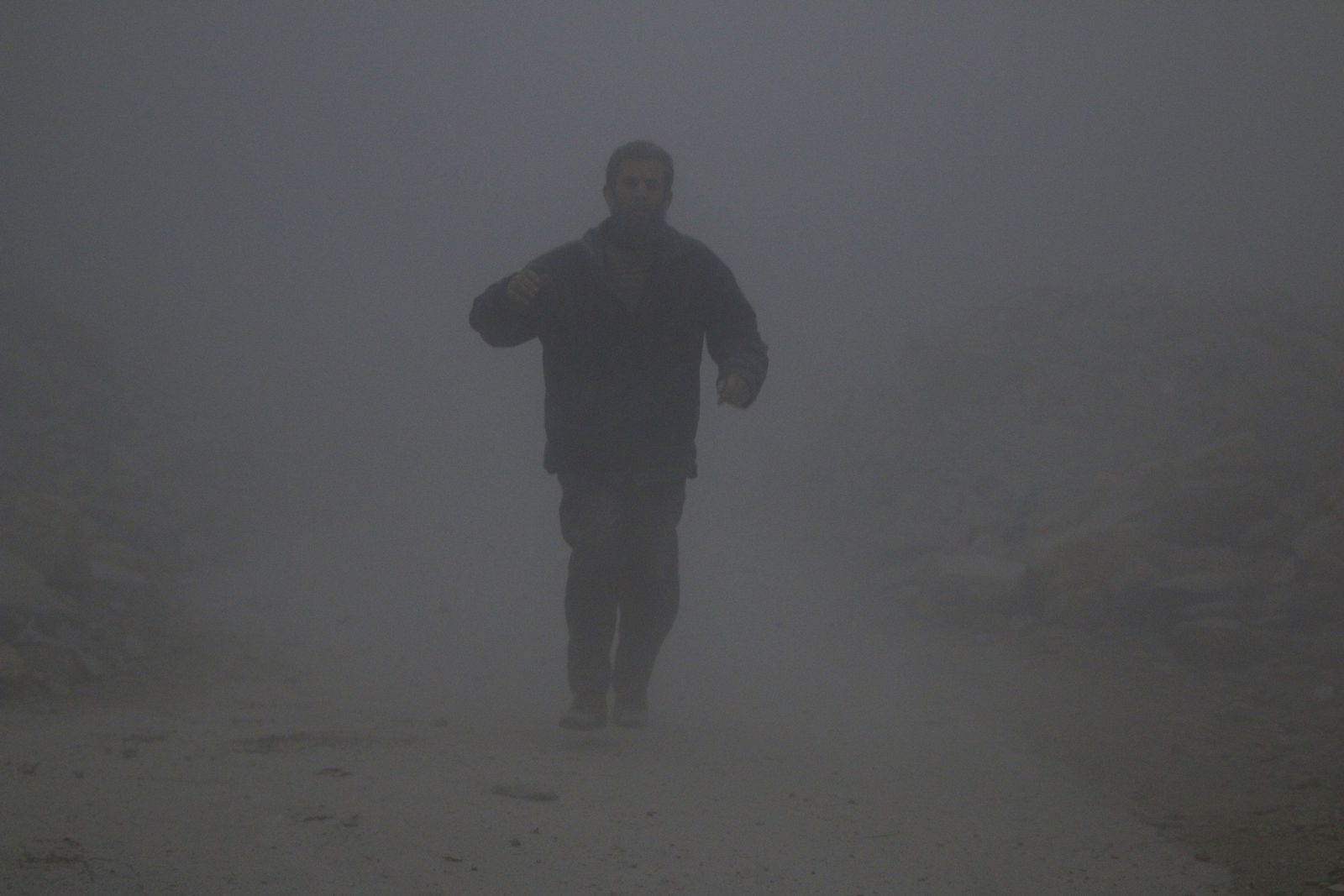 Syrien/ Aleppo / Luftangriffe / al-Ansari