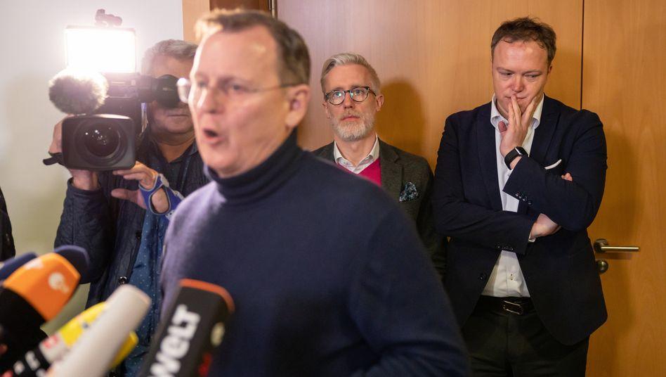 Durchbruch in Thüringen: CDU will Ramelow wählen - Neuwahlen im April 2021