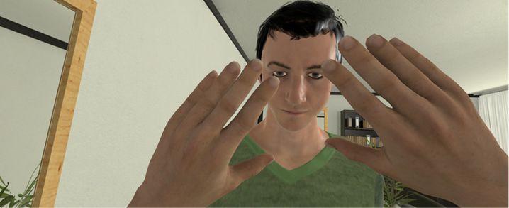 Mit Virtual Reality lernen Täter, sich besser in andere Menschen hineinzuversetzen