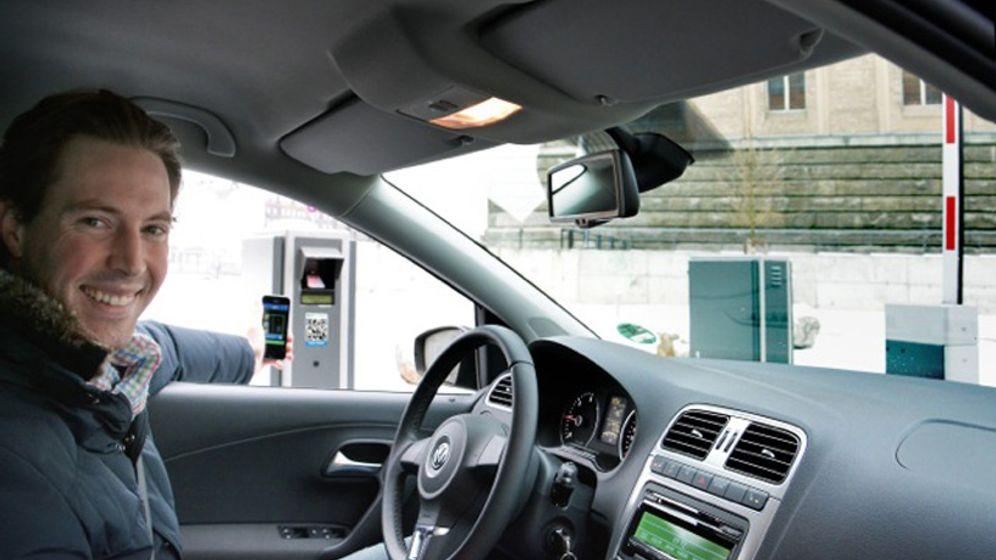 """Parkplatz-App """"ParkU"""": Die Suche hat ein Ende"""