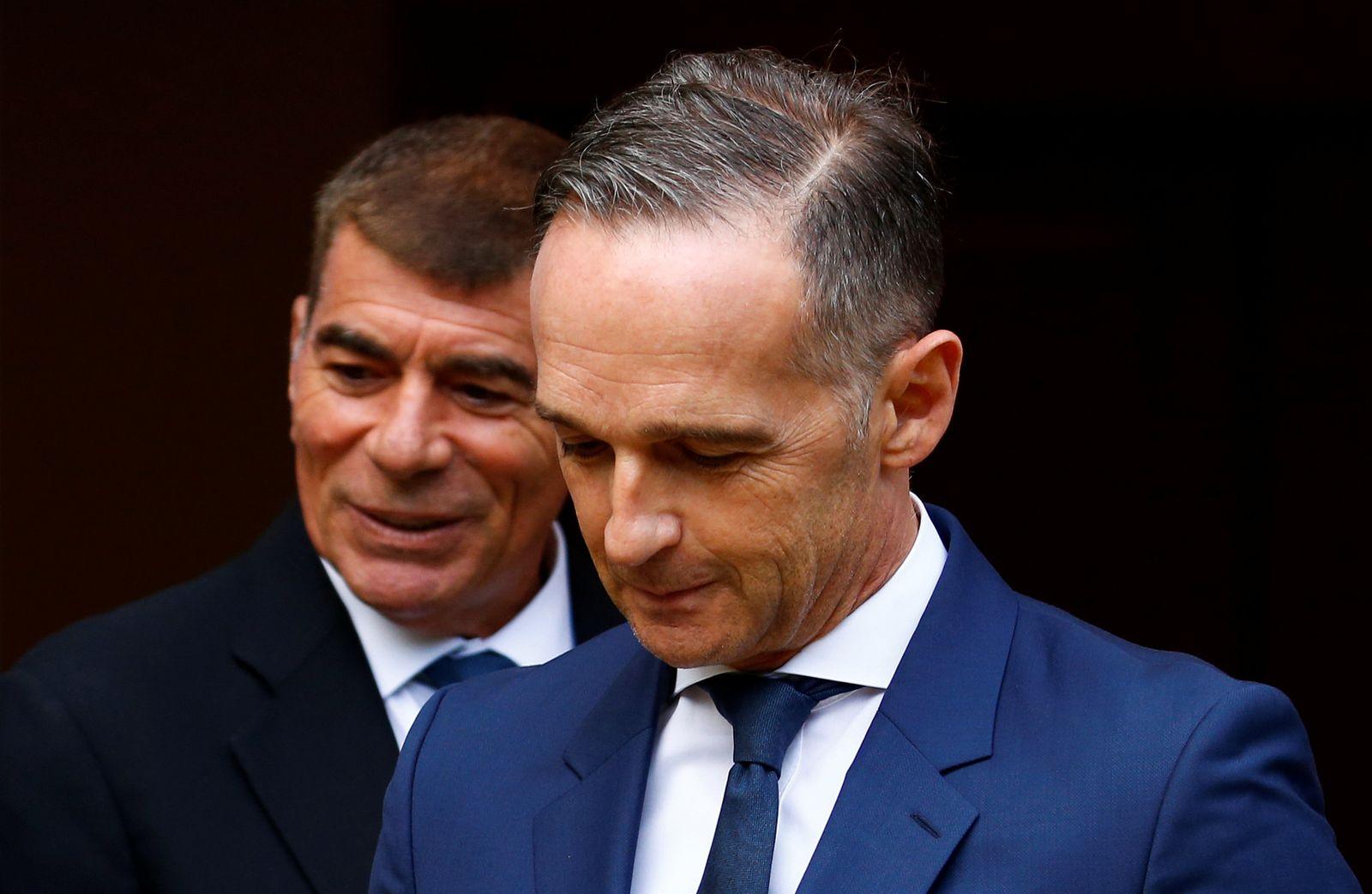 Außenminister Maas trifft Aschkenasi