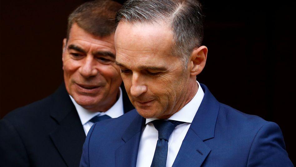 Außenminister Maas: Bisherige Sanktionen gegen Belarus zeigten kaum Wirkung