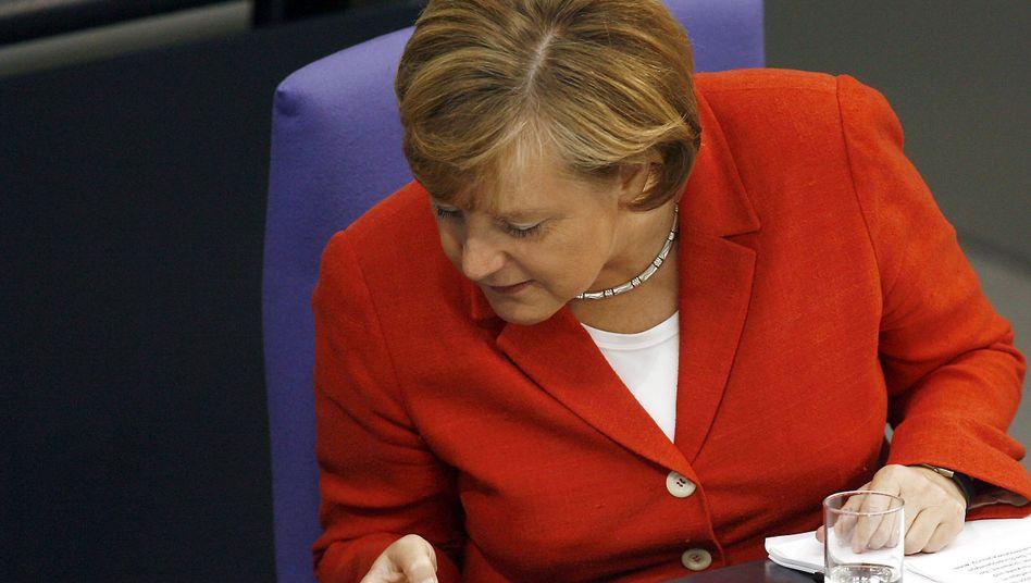 Regierungschefin Merkel: Die Handy-Kanzlerin wird noch besser verschlüsselt