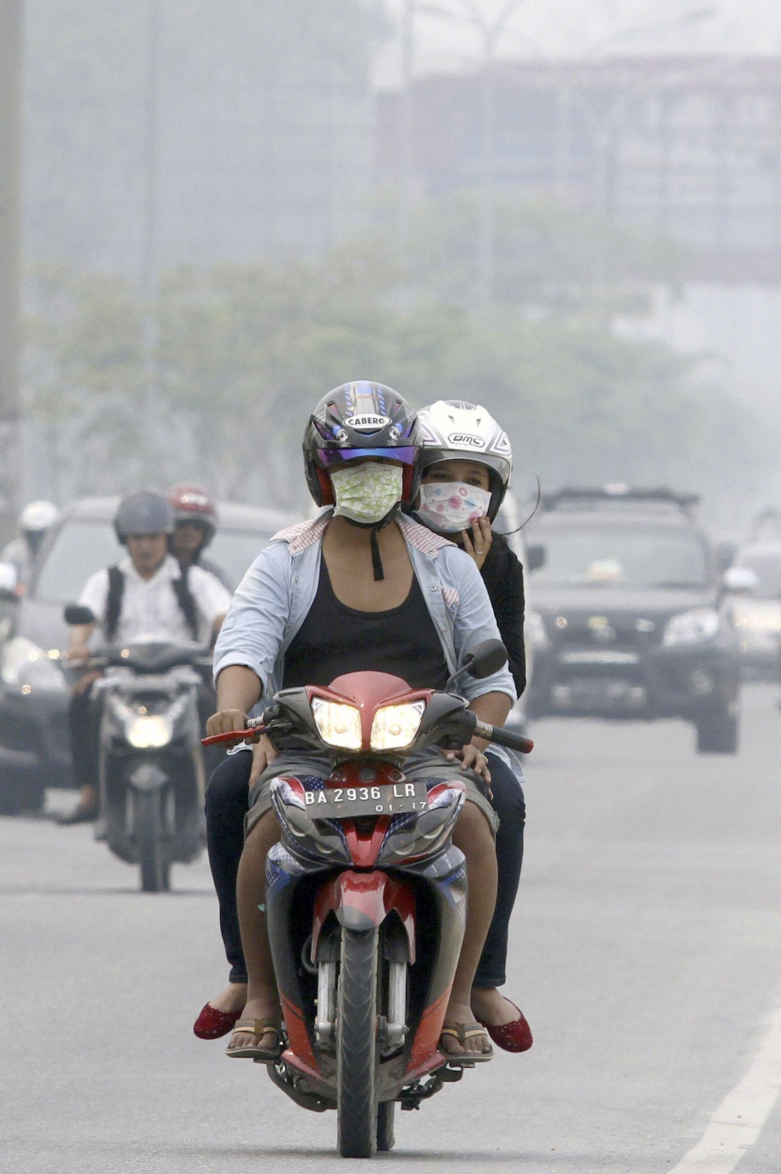 Smog: Indonesische Behörden rufen Notstand aus - DER SPIEGEL