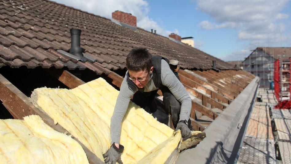 Wärmedämmung eines Daches: Zentraler Bestandteil der Energiewende