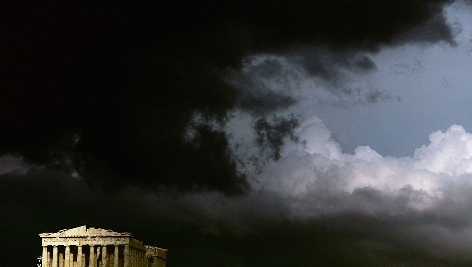 Storm clouds over the Acropolis: A Greek euro exit is looming ever larger.