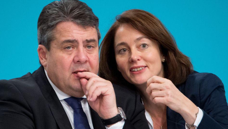 SPD-Politiker Gabriel und Barley