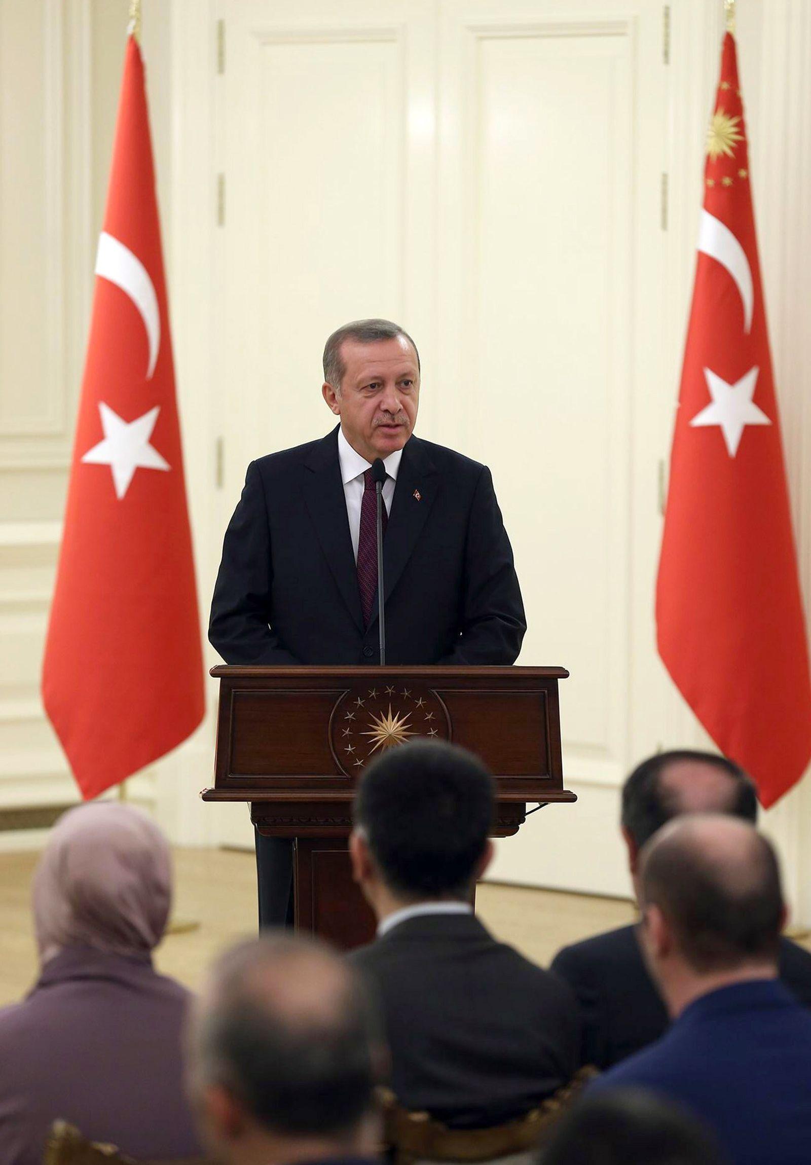 TURKEY-SYRIA-HOSTAGES-ERDOGAN