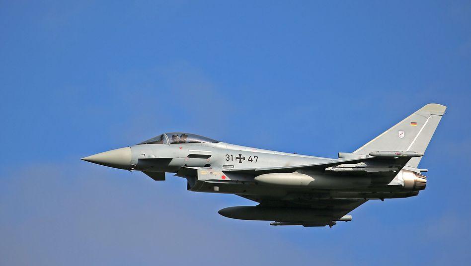 Ein Eurofighter der Luftwaffe: Mit 5,5 Milliarden Euro soll die Flotte modernisiert werden