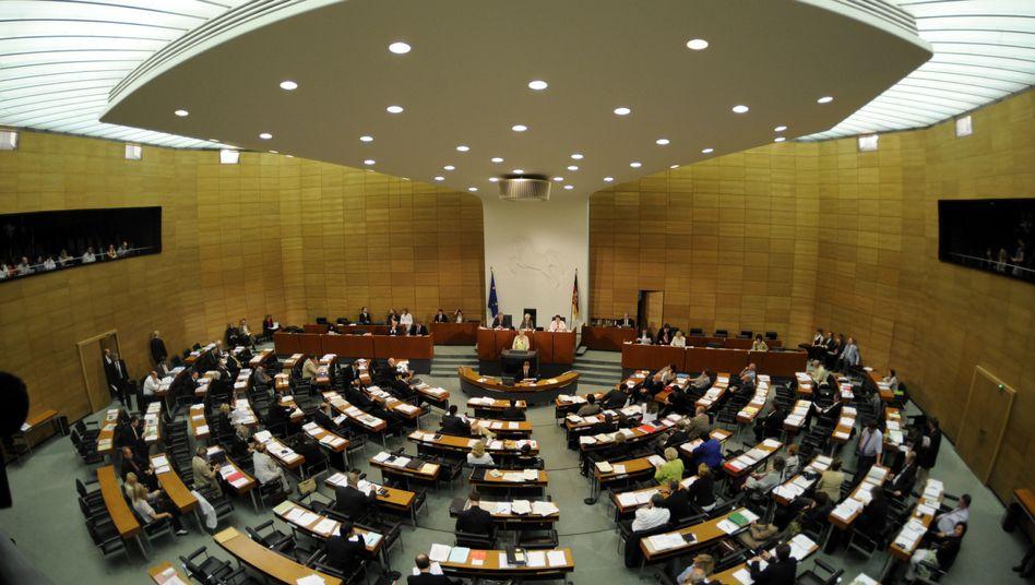 Landtag in Hannover (Archivbild): Ältestenrat befasst sich mit der Causa Wulff