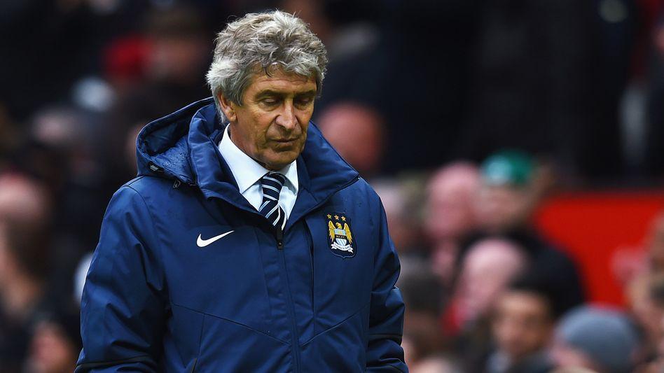 """City-Trainer Pellegrini: """"Es ist sehr hart, Vierter zu sein"""""""
