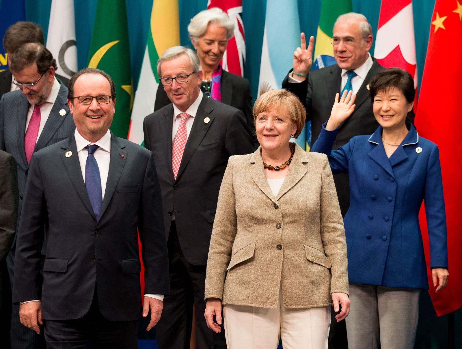 Merkel / G20-Gipfel in Australien