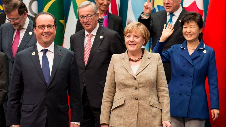 Gipfelteilnehmerin Merkel: Ihre persönlichen Daten landeten beim falschen Adressaten