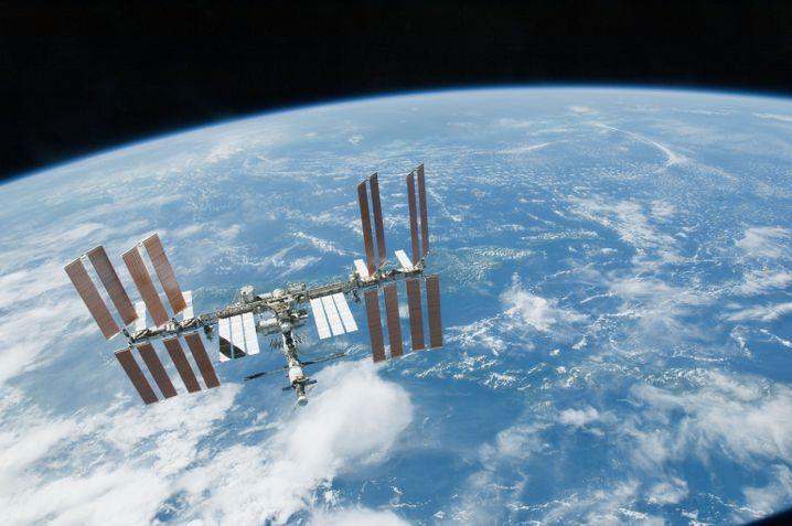 Die Internationale Raumstation (Archivbild von 2010)