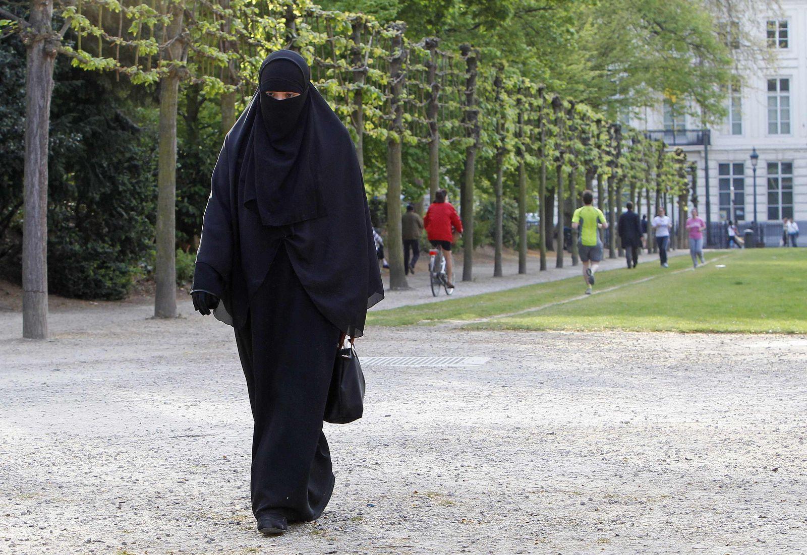 Burka Belgien