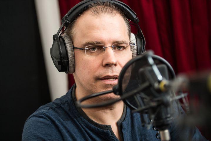 So sieht der Mann hinter der Stimme aus: Heiko Grauel ist der neue Bahn-Ansager
