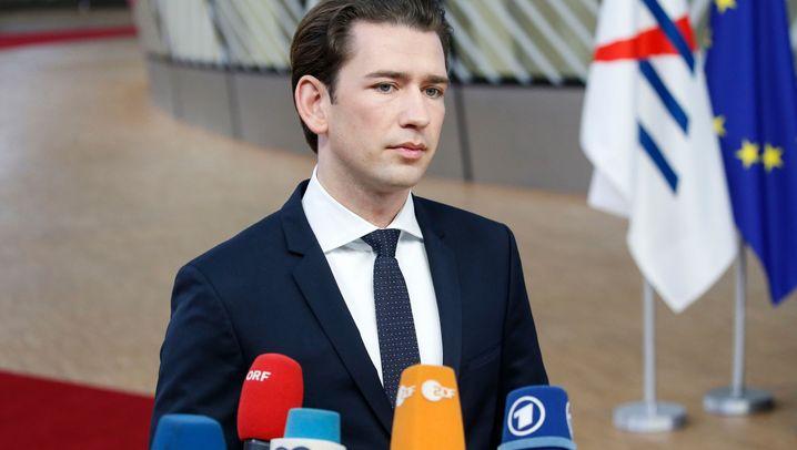 Österreichs Kanzler: Dieses Jahr war Kurz