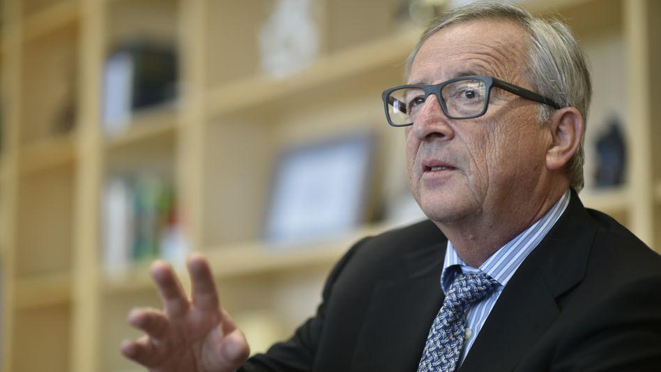 """EU-Kommissionspräsident Juncker: """"Situation stürzt mich in tiefste Verzweiflung"""""""