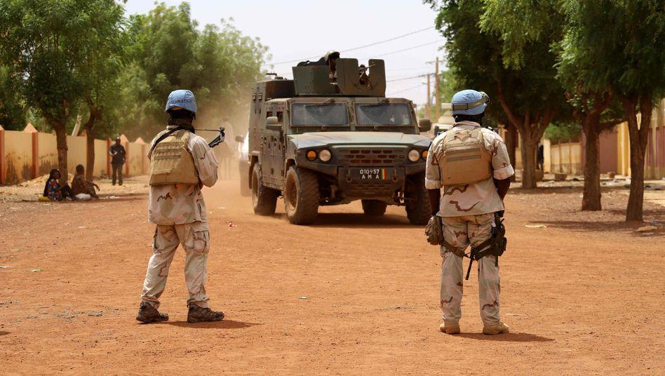 Uno-Soldaten in Mali (Archivbild): Das Land kommt nicht zur Ruhe